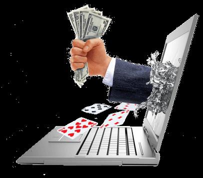 sacando seu dinheiro do cassino online